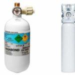 Oksygen, gassflasker