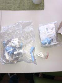 Garnityr i pakken Inhalasjonsapparat Innospire Deluxe