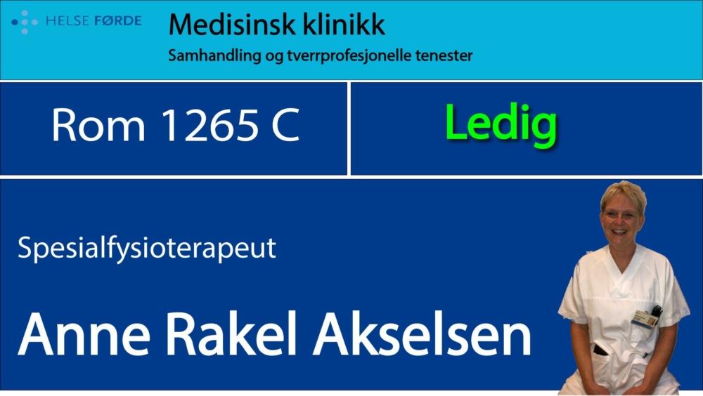 1265c Akselsen, Anne Rakel Ledig