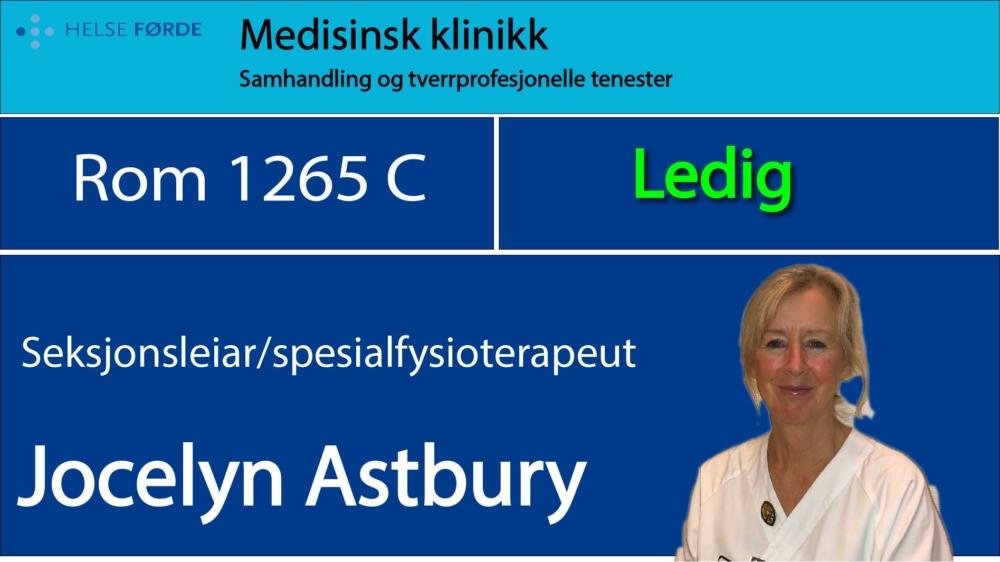 1265c Astbury Jocelyn Ledig