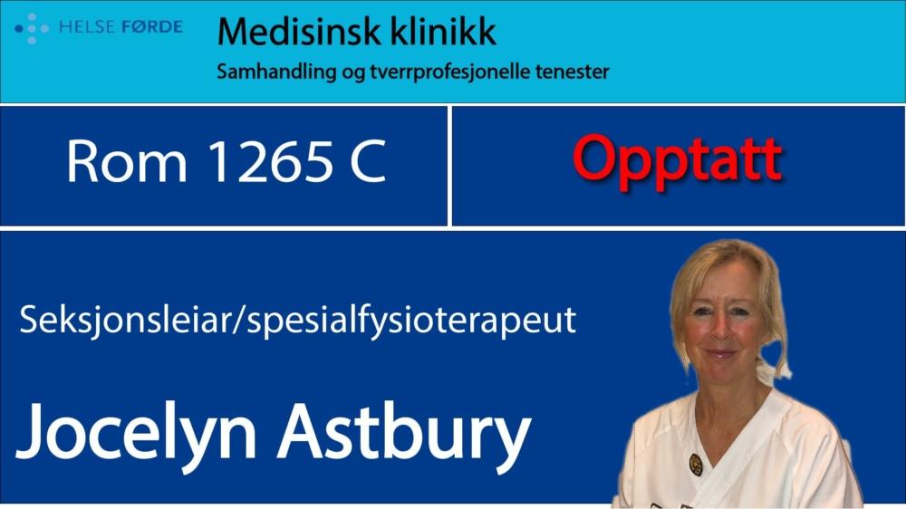 1265c Astbury Jocelyn Opptatt