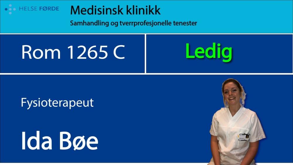1265c Bøe Ida Ledig c