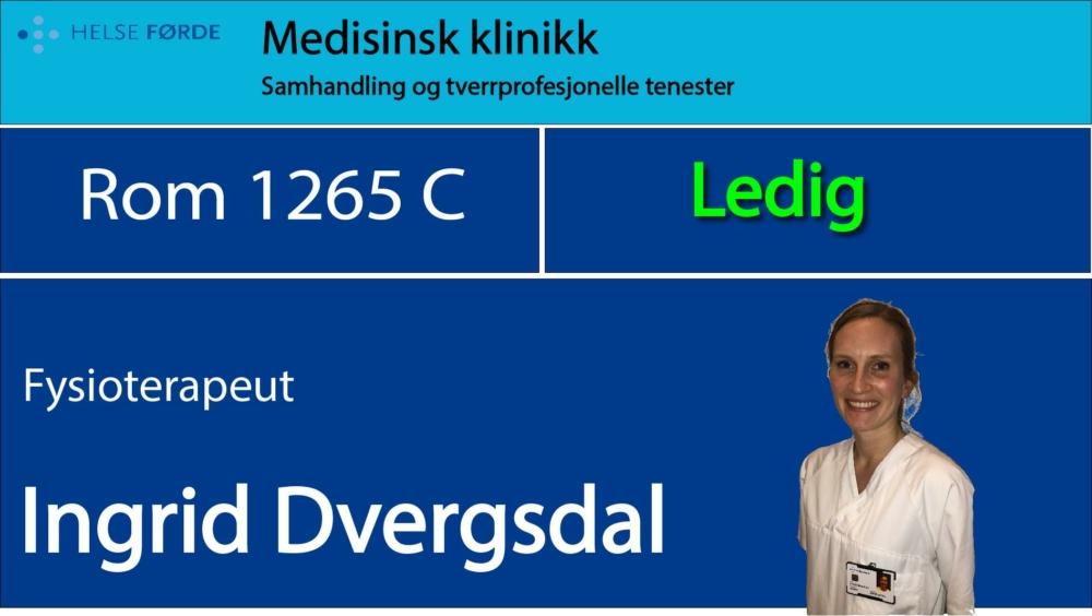 1265c Dvergsdal Ingrid Ledig