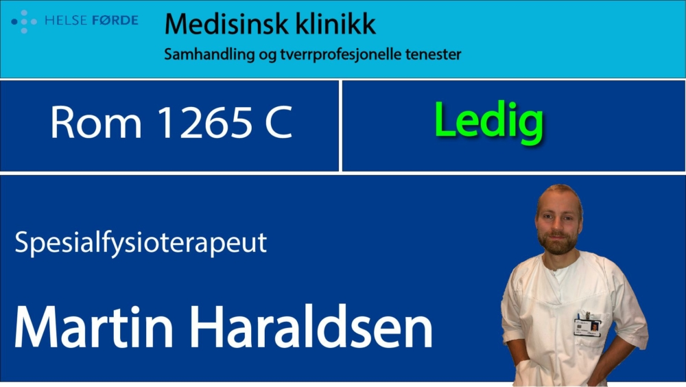 1265c Haraldsen, Martin Ledig