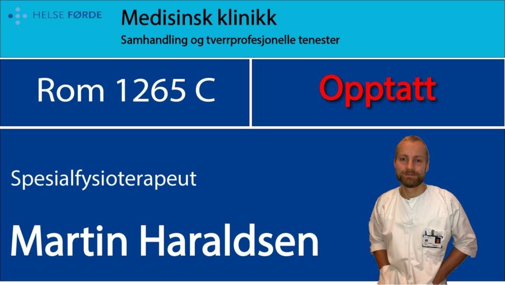 1265c Haraldsen, Martin Opptatt