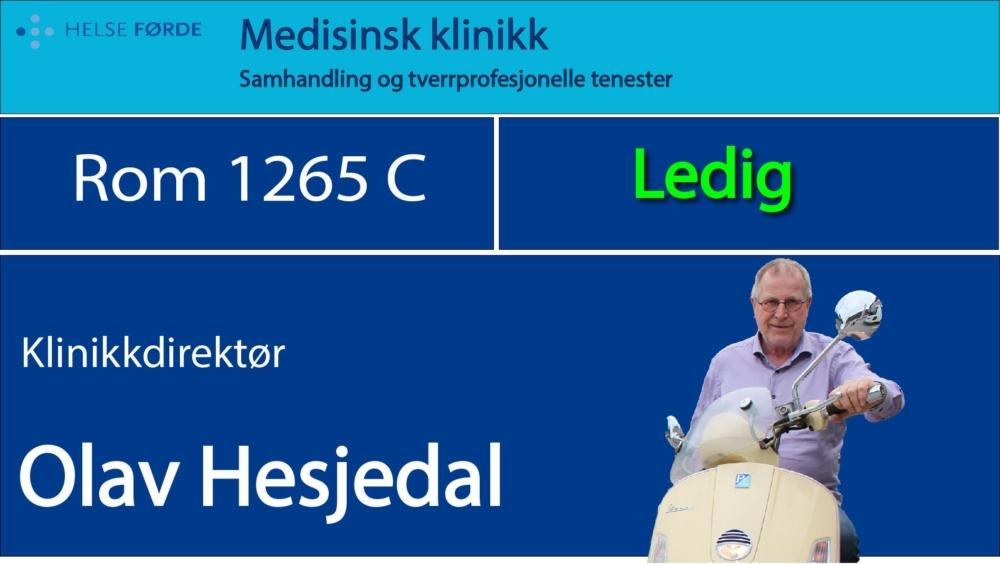 1265c Hesjedal Olav Ledig