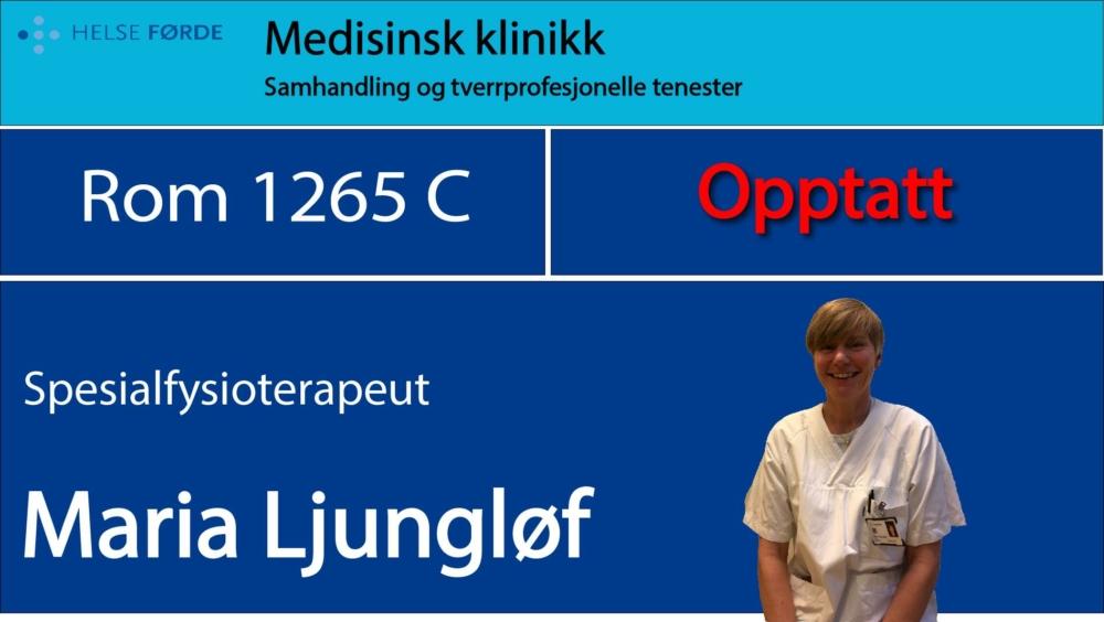 1265c Ljungløv, Maria Opptatt