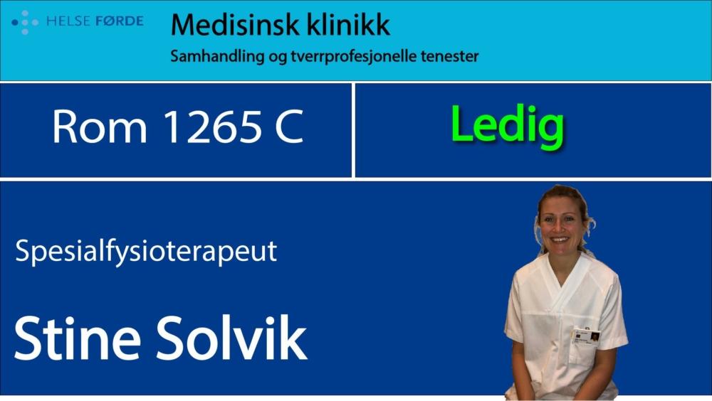 1265c Solvik, Stine Ledig