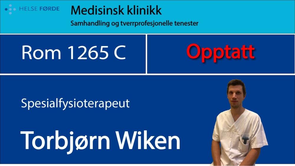 1265c Wiken, Torbjørn Opptatt